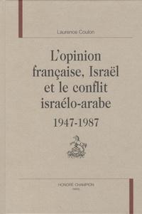 Lopinion française, Israël et le conflit israélo-arabe (1947-1987).pdf
