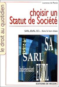 Laurence de Percin - Choisir un statut de société.