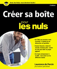 Manuels pdf gratuits à télécharger Créer sa boîte pour les nuls 9782754076333 MOBI PDB RTF par Laurence de Percin