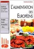 Laurence de Percin - L'alimentation des Européens.