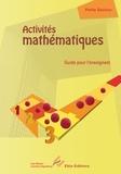 Laurence Deguilloux - Activites mathématiques Petite section.