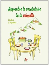 Laurence Deguilloux et Linda Carboni - Apprendre le vocabulaire de la vaisselle PS-MS.