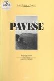 Laurence Delpierre et Richard Durand - Cesare Pavese.