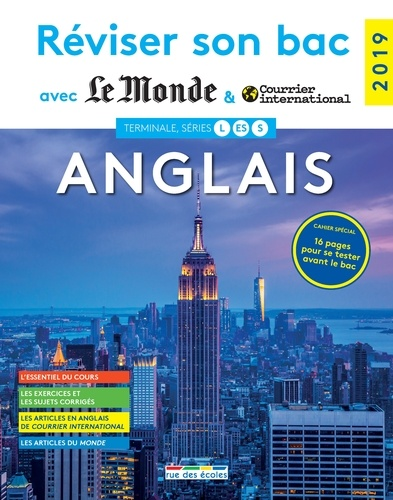 Anglais Terminale Series L Es S Grand Format