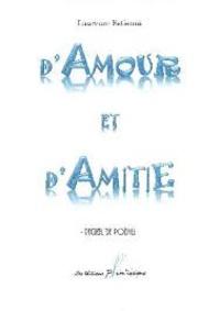 Laurence Estienne - D'amour et d'amitié.