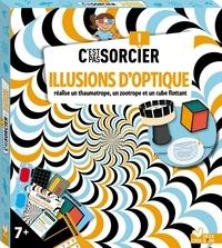 Laurence Féraud et Matthieu Roda - Illusions d'optique - Avec lunettes 3D, 20 cartes illustions d'optiques.