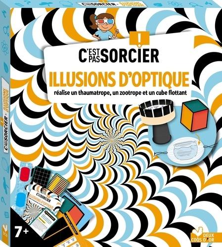 Illusions d'optique. Avec lunettes 3D, 20 cartes illustions d'optiques