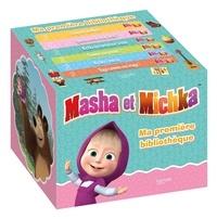 Laurence Féraud - Ma première bibliothèque Masha et Michka - Coffret en 6 volumes : L'enquête de Masha ; Comme une grande ! ; Michka s'ennuie ; Sage comme une image ! ; Michka est tombé sur la tête ; Quel est ce drôle de buit ?.