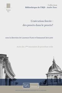 Laurence Flise et Emmanuel Jeuland - L'exécution forcée : des procès dans le procès ?.