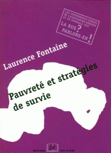 Laurence Fontaine - Pauvreté et stratégies de survie - Une conférence-débat de l'Association Emmaüs.