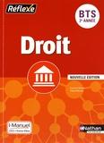 Laurence Garnier et Patrick Mercati - Droit BTS 2e année Réflexe - i-Manuel, Livre + licence élève.