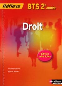 Laurence Garnier et Patrick Mercati - Droit - BTS 2e année.