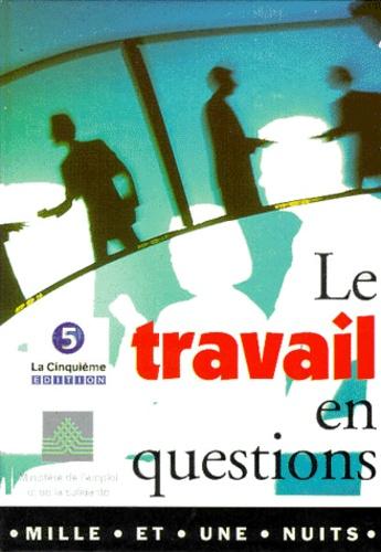 Laurence Graffin et  Collectif - Le travail en questions Tome 7 - La solidarité crée t-elle des emplois ?.