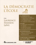 Laurence Hansen-Love - La démocratie, l'école Sciences Po - Questions contemporaines.