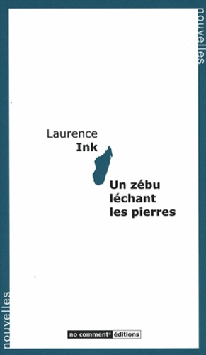 Laurence Ink - Un zébu léchant les pierres.