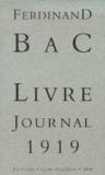 Laurence Joseph et Ferdinand Bac - .
