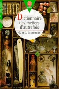 Ucareoutplacement.be Dictionnaire des métiers d'autrefois Image