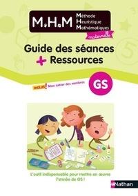 Laurence Le Corf et Nicolas Pinel - Mathématiques GS Maternelle MHM, Méthode Heuristique Mathématiques - Pack en 2 volumes : Guide des séances ; Ressources.