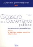 Laurence Lemouzy - Glossaire de la gouvernance publique.