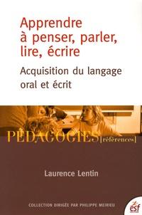 Accentsonline.fr Apprendre à penser, parler, lire, écrire - Acquisition du langage oral et écrit Image