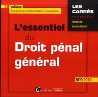Laurence Leturmy et Patrick Kolb - L'essentiel du droit pénal général.