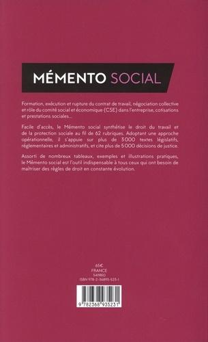 Mémento social  Edition limitée