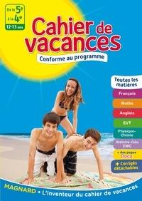 Laurence Mokrani et Jean-Dominique Picchiottino - Cahier de vacances De la 5e à la 4e - 12-13 ans.