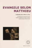 Laurence Plazenet - Evangile selon Saint Matthieu.