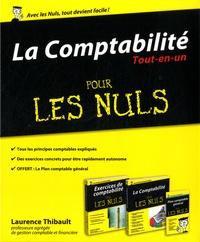 Laurence Thibault - La comptabilité tout-en-un pour les nuls - Coffret en 2 volumes : La comptabilité pour les nuls ; Exercices de comptabilité pour les nuls.