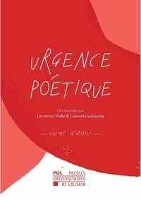 Laurence Vielle et Corentin Lahouste - Urgence poétique - Carnet d'atelier.