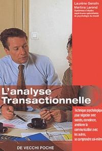 Laurène Genain et Martine Lerond - L'analyse transactionnelle.