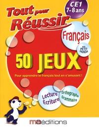 Laurent Audouin et René Canella - Français avec petit panda - 50 jeux CE1 7-8 ans.