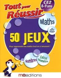 Laurent Audouin et René Canella - Maths avec petit panda - 50 jeux CE2 8-9 ans.