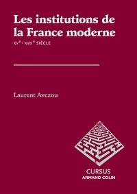 Les institutions de la France moderne XVe-XVIIIe siècle.pdf