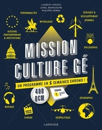 Laurent Avezou et Jamel Benhassine - Mission culture gé - Un programme en 5 semaines chrono !.