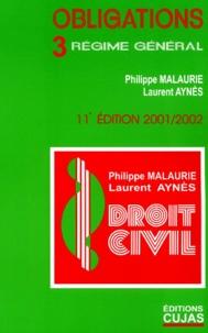 Les obligations. Volume 3, Régime général, 11ème Edition.pdf