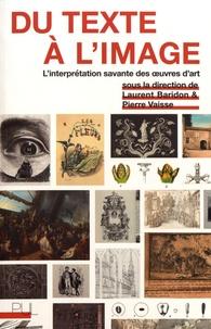 Galabria.be Du texte à l'image - L'interprétation savante des oeuvres d'art Image