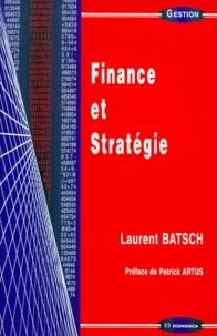 Finance et stratégie - Laurent Batsch |