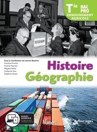 Laurent Baudron - Histoire Géographie Tle Bac Pro enseignement agricole.