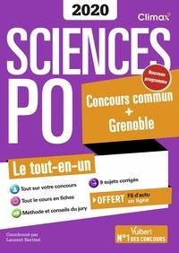 Laurent Berthet et Sophie Chapuis - Sciences Po - Concours commun + Grenoble.