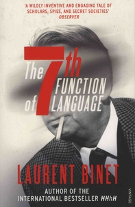 Laurent Binet - The 7th Function of Language.