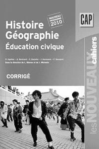 Laurent Blanès - Histoire Géographie Education civique CAP - Corrigé.