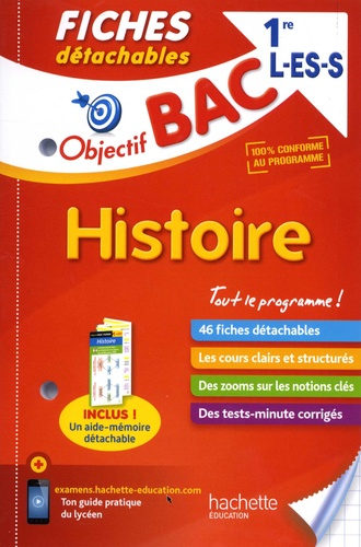 Laurent Boimare et Stéphane Genêt - Histoire 1re L-ES-S.