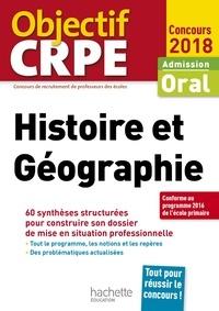 Laurent Bonnet - CRPE en fiches : Histoire Géographie 2018.