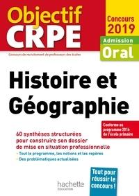 Laurent Bonnet - CRPE en fiches : Histoire Géographie 2019.