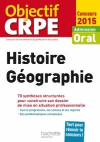 Laurent Bonnet - Histoire-Géographie - Admission oral.