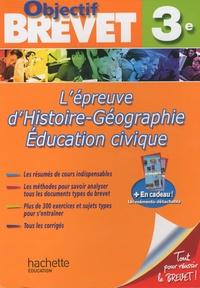 Histoiresdenlire.be L'épreuve d'histoire-géographie-éducation civique 3e Image