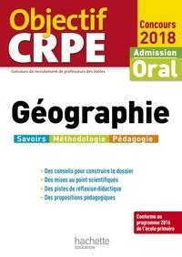 Laurent Bonnet - Objectif Crpe Géographie 2018.