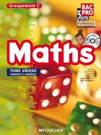 Laurent Breitbach et Isabelle Baudet - Maths 1re Tle Bac Pro Groupement C - Tome unique. 1 Cédérom