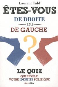 Laurent Cald - Etes-vous de droite ou de gauche ? - Le quiz qui révèle votre identité politique.